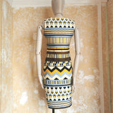 EMILLIO PUCCI MULTI PATTERN  DRESS