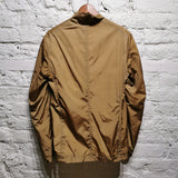 JIL SANDER TWISTED COLLAR SATIN BOMBER