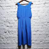 PHILLIP LIM BLUE SILK DRESS