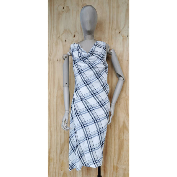 VIVIENNE WESTWOOD RED LABEL CHECKED DRESS