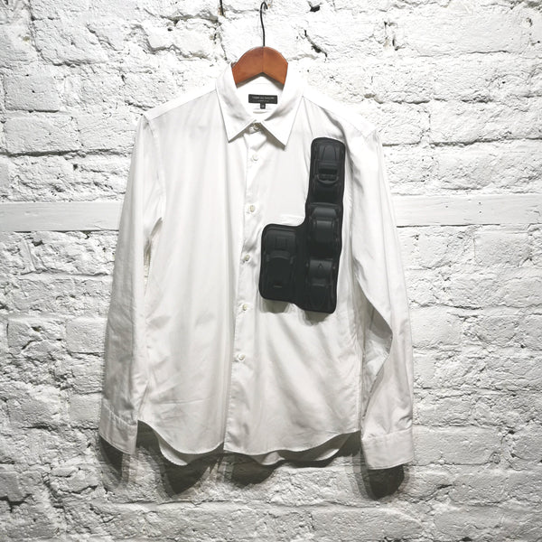 COMME DES GARCONS HOMME PLUS SHIRT ATTACHED RUBBER