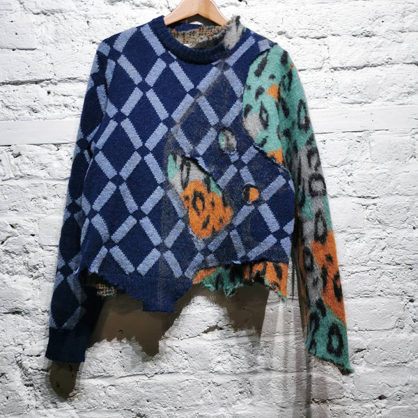 MARNI STICHED TOGETHER MOHAIR KNIT