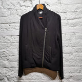 HELMUT LANG DOWNFILLED JERSEY JACKET
