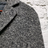BOTTEGA VENETA GREY MELANGE  TWEED JACKET