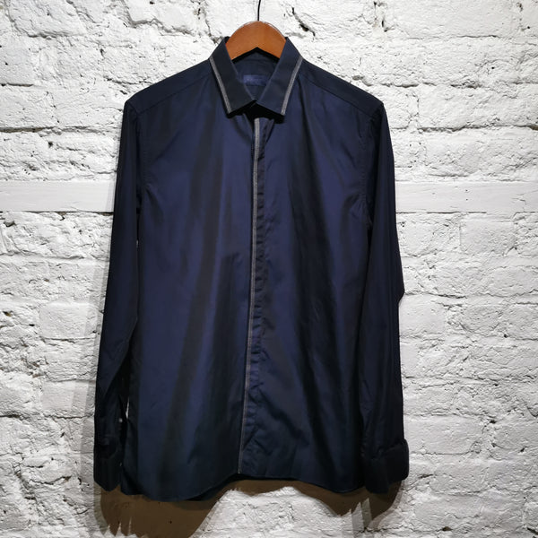 LANVIN COTTON STITCH SHIRT