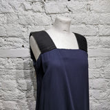DAMIR DOMA  Navy and black dress SIZE S
