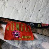 KENZO JUNGLE FLOWER PRINT TOP