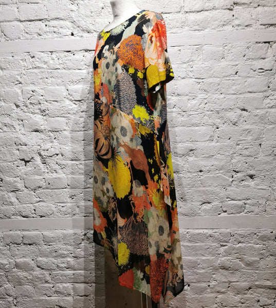 DRIES VAN NOTEN SILK DRESS