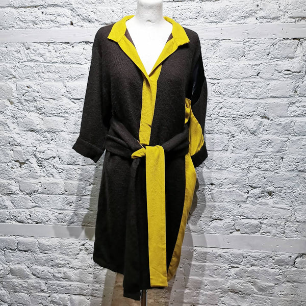 DRIES VAN NOTEN ALPACA DRESS
