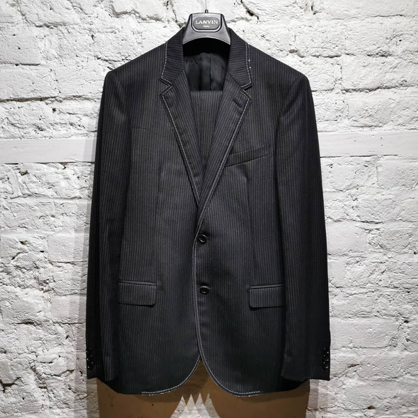 LANVIN SADDLE STITCH SUIT