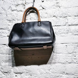 PAUL SMITH BLUSH AND BLACK HANDBAG