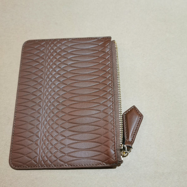 PAUL SMITH BROWN LEATHER WALLET