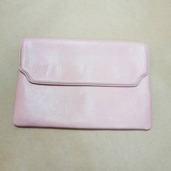 BARABOUX DUSTY PINK CLUTCH