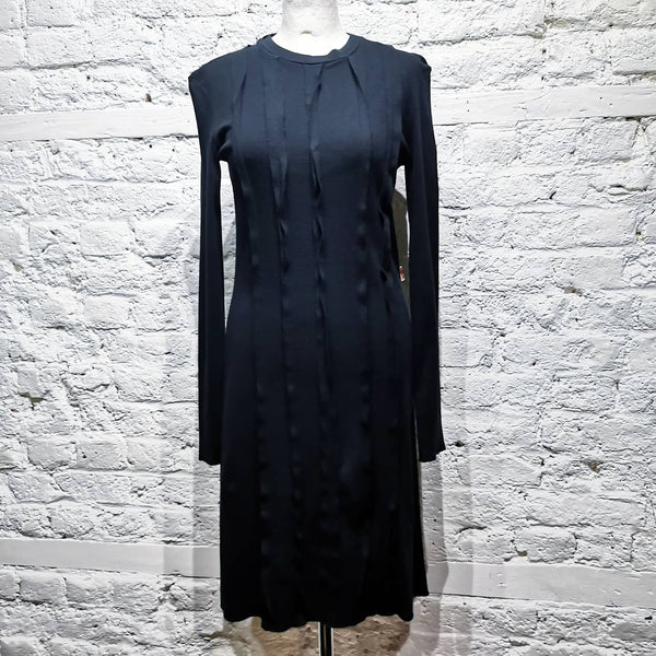 Jean Paul Gaultier JPG Jeans Black longsleeve Dress