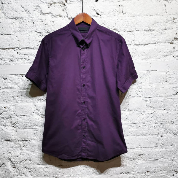 ALEXANDER MCQUEEN PURPLE SHIRT SIZE IT 48