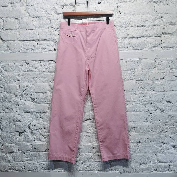 JUNYA WATANABE MAN COMME DES GARCONS PINK TROUSERS