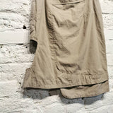 HUSSEIN CHALAYAN CUT OUT COTTON SKIRT 29""