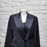 JEAN PAUL GAULTIER 1990S ARCHIVE TASSEL TUXEDO JACKET SIZE IT 44