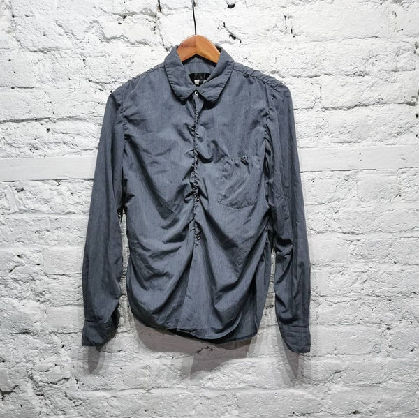 COMME DES GARCONS GREY OVERDYED SHIRT AD2009 Size M