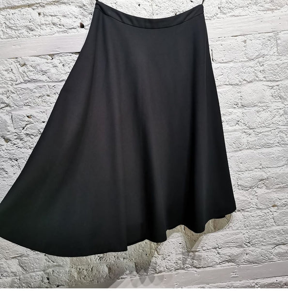 Martin Margiela  S/S 2002 Black Flared Skirt