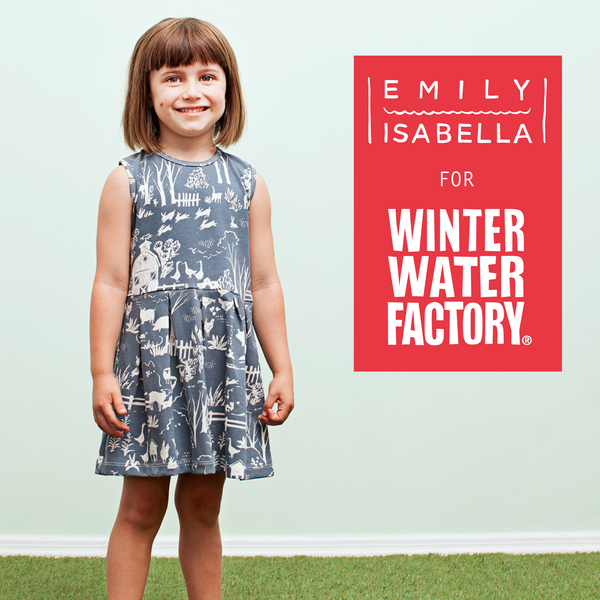 EMILY ISABELLA FOR WINTER WATER FACTORY