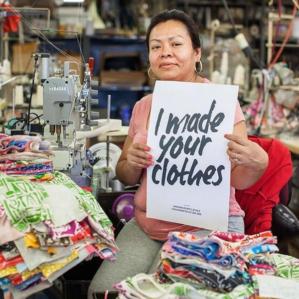Who makes our clothes?