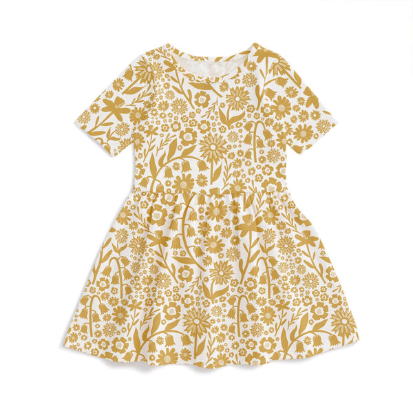 Alberta Dress - Dutch Floral Yellow