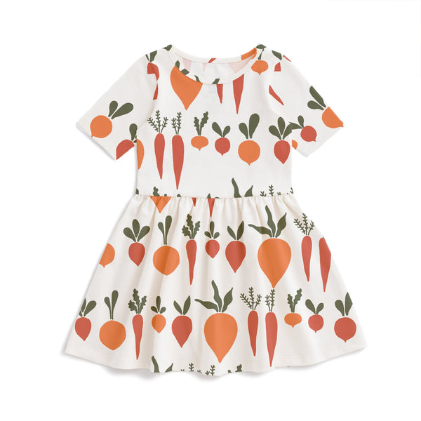 Alberta Dress - Root Vegetables Natural