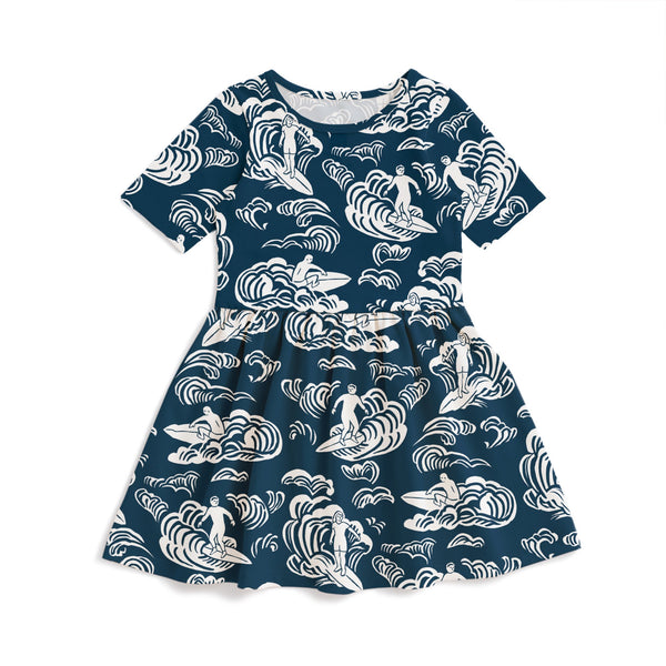 Alberta Dress - Surfers Navy