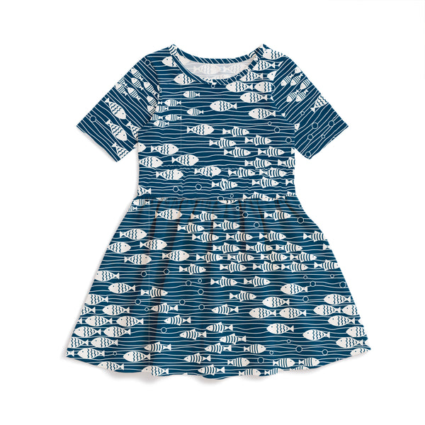 Alberta Dress - Under The Sea Navy