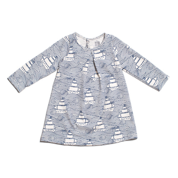 Aspen Baby Dress - High Seas Navy