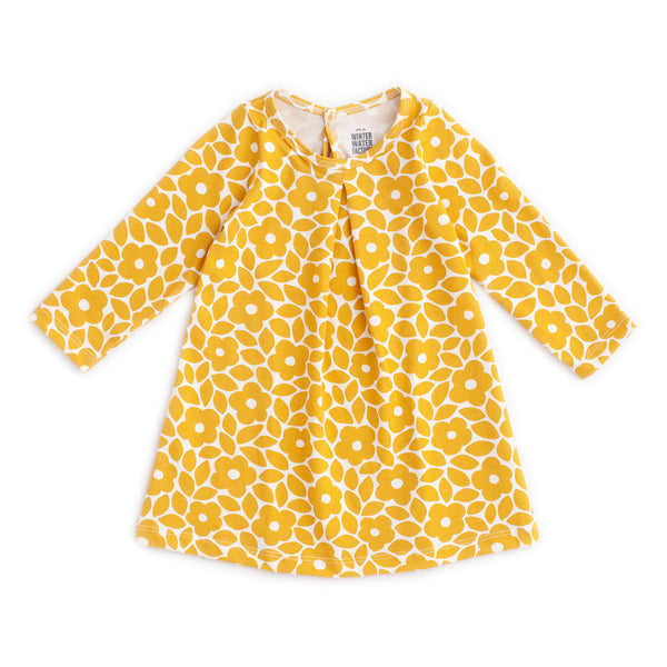 Aspen Baby Dress - Marrakesh Floral Yellow