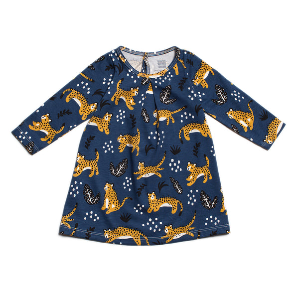 Aspen Baby Dress - Wildcats Navy
