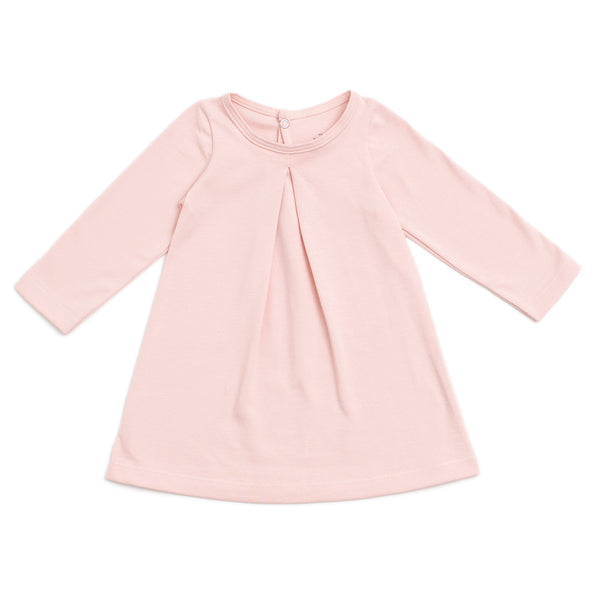Aspen Baby Dress - Solid Pink