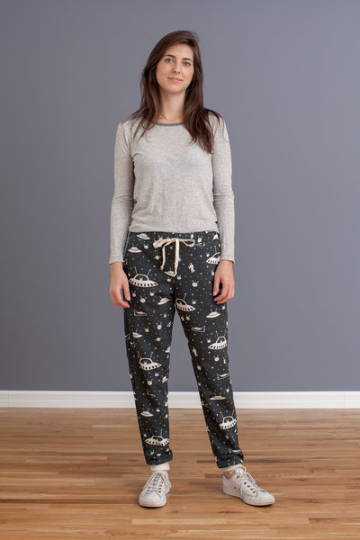 Adult Sweatpants - Outer Space Charcoal