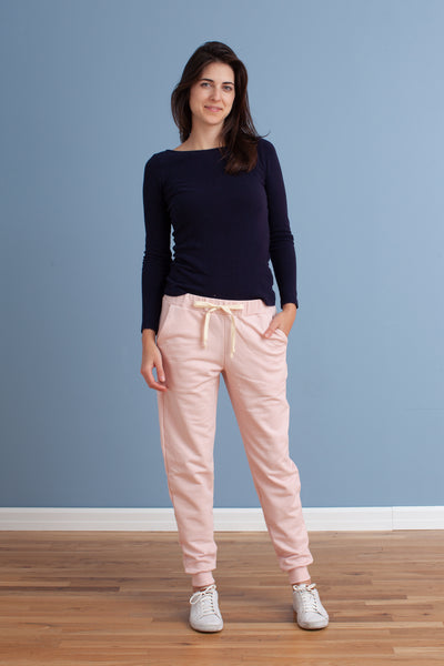 Adult Sweatpants - Solid Pink