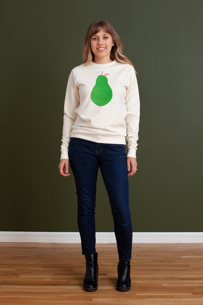 AJJ X WWF Adult Sweatshirt - Pear