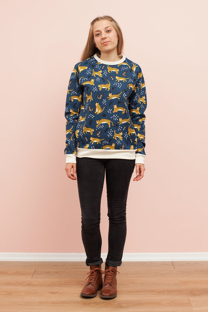 Adult's Sweatshirt - Wildcats Navy
