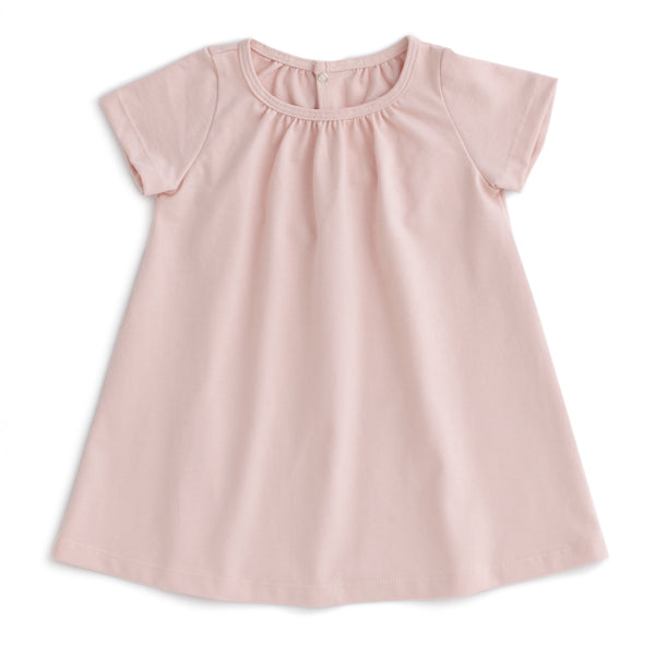 Azalea Baby Dress - Solid Pink