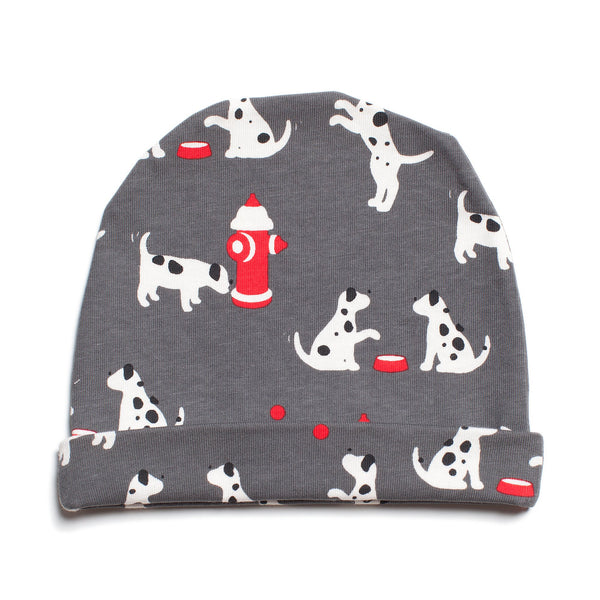 Baby Hat - Dalmatians Charcoal