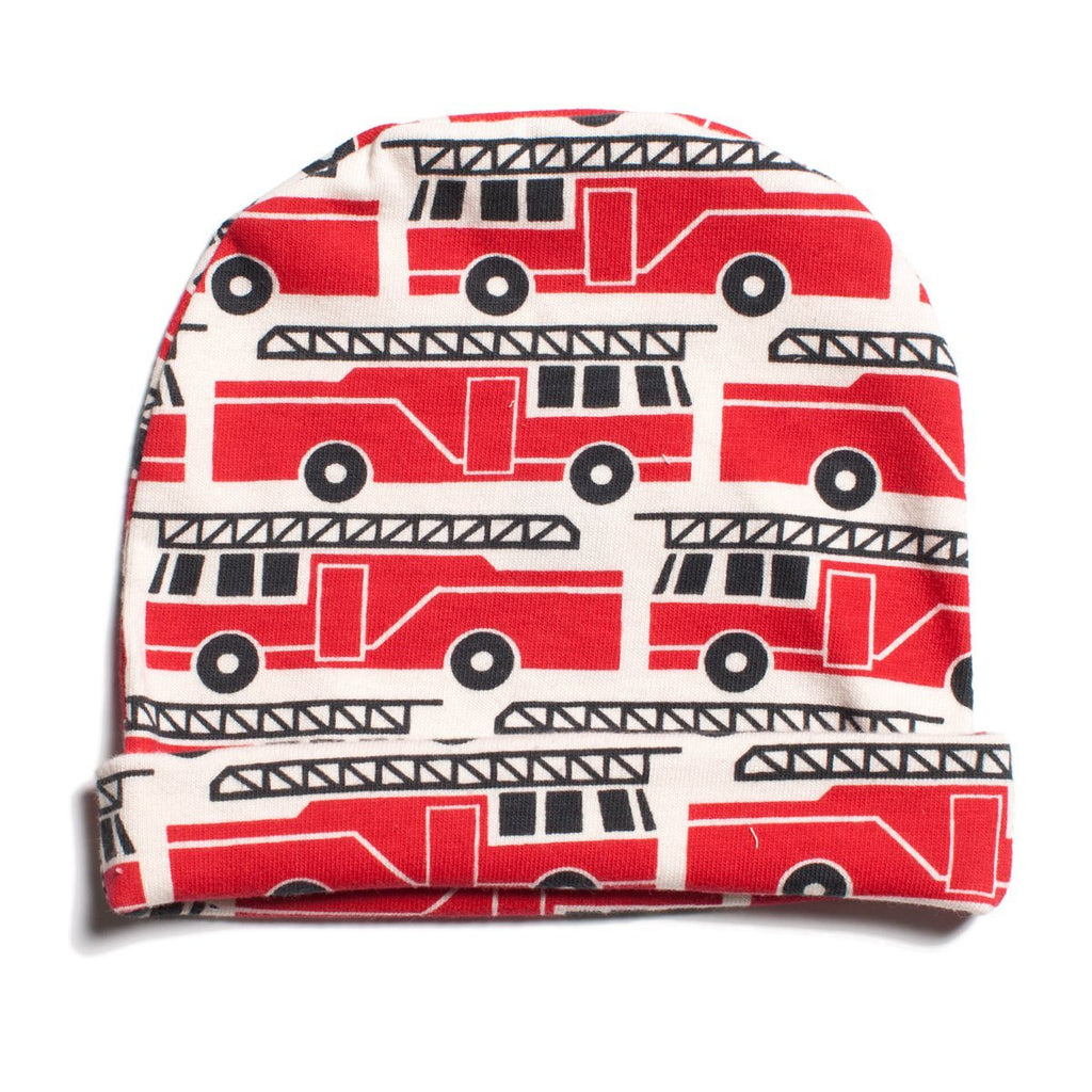 Baby Hat - Firetrucks Red