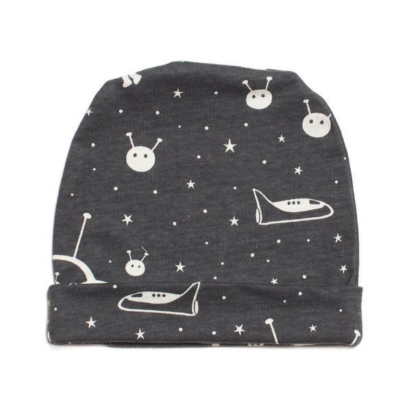 Baby Hat - Outer Space Charcoal