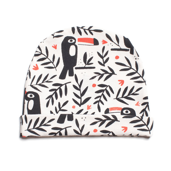 Baby Hat - Toucans Black