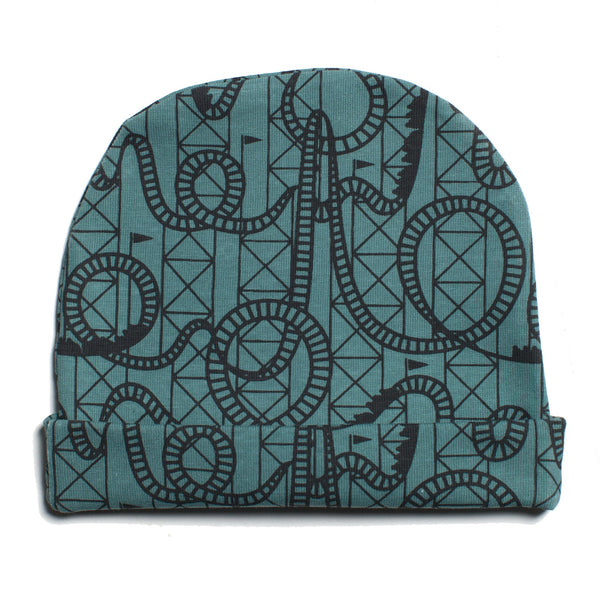 Baby Hat - Rollercoaster Teal