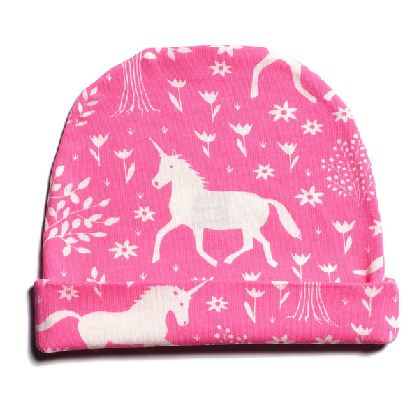 Baby Hat - Magical Forest Pink
