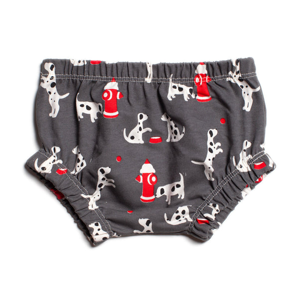 Bloomers - Dalmatians Charcoal
