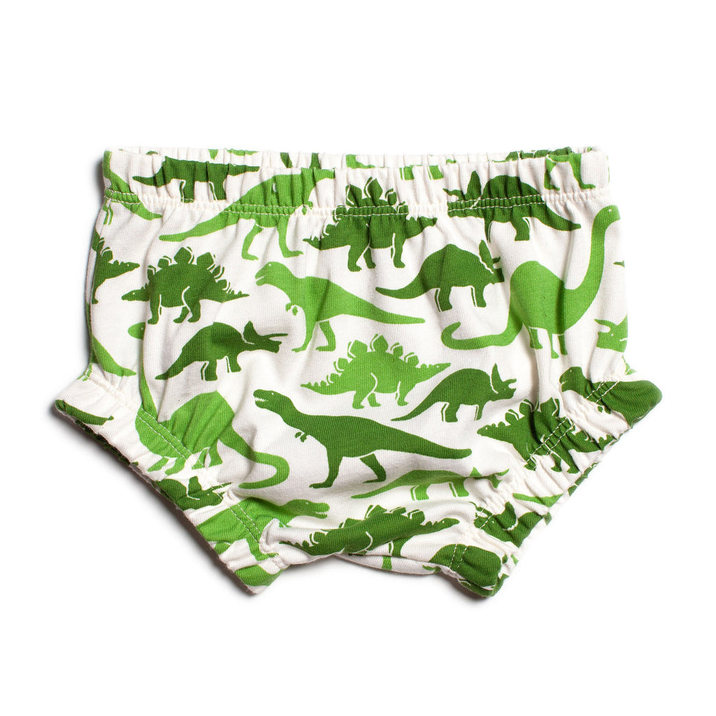Bloomers - Dinosaurs Green