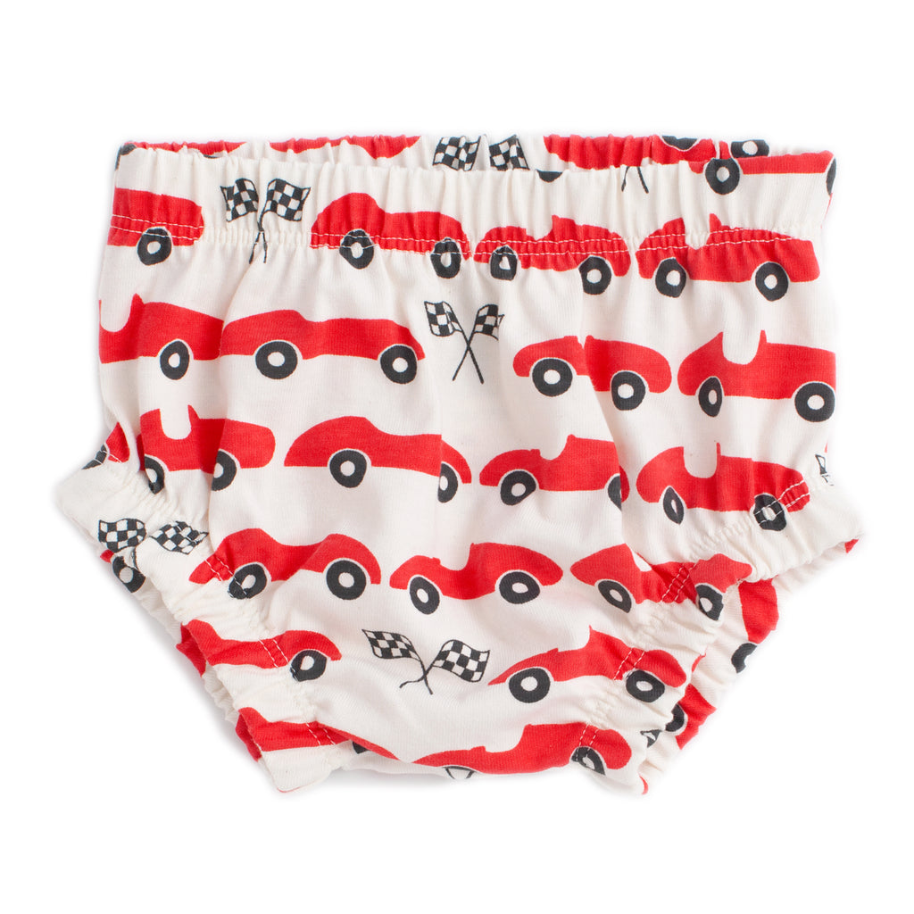 Bloomers - Race Cars Red