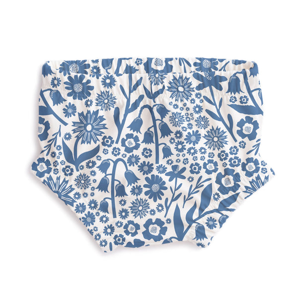 Bloomers - Dutch Floral Delft Blue