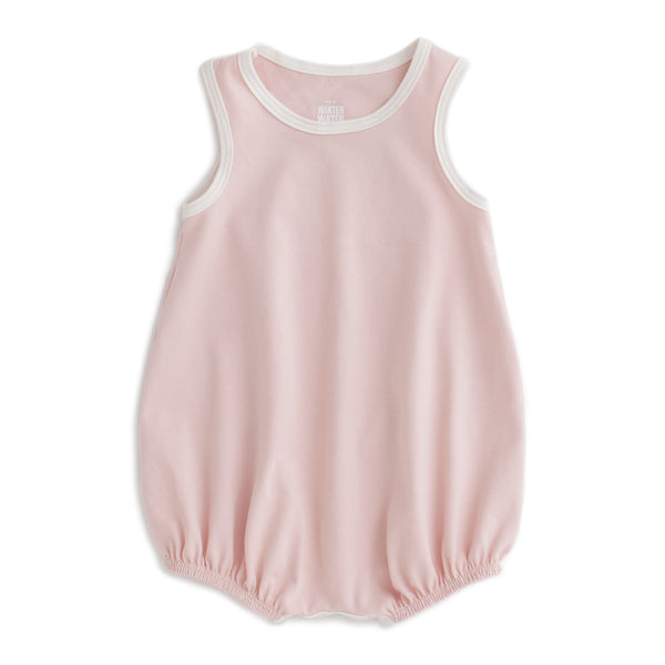 Bubble Romper - Solid Pink